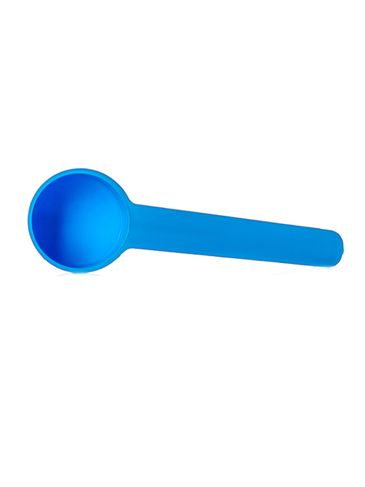 5 cc blue plastic scoop