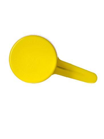 1 oz yellow plastic scoop
