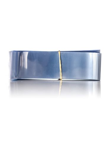 135x40 Clear PVC plastic perforated shrink band for M548 tin