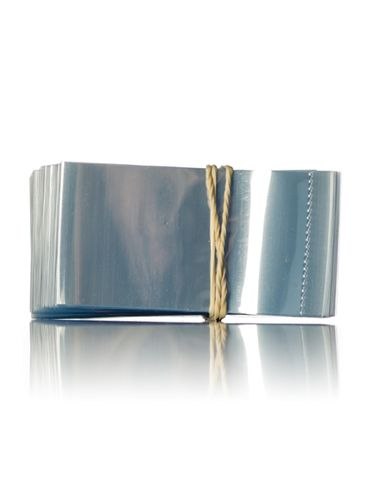 66x25 Clear PVC plastic perforated shrink band