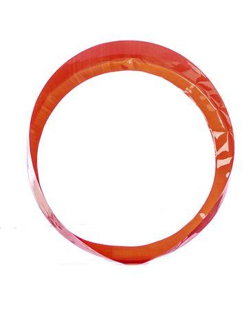 192 x 25 mm red plastic preformed shrink band