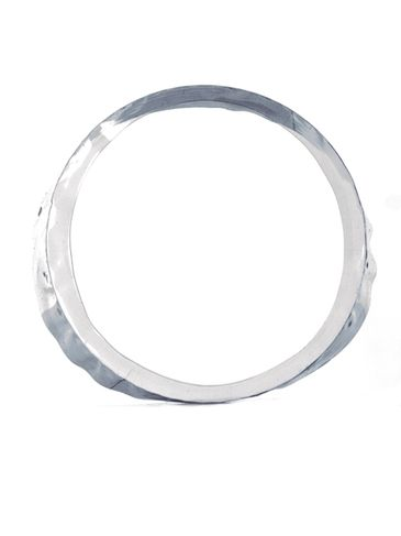 152x33 Clear PVC plastic preformed shrink band for tubs and 89-400 neck finish