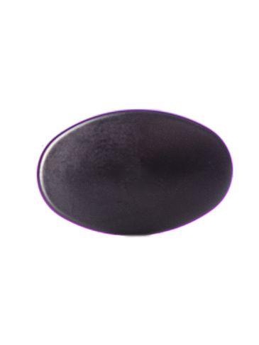 Black PP plastic lip balm cap for M213