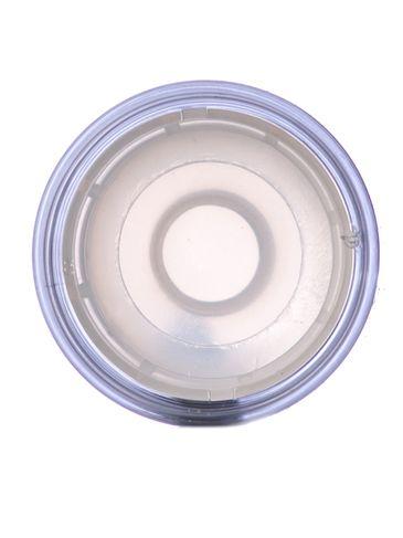 1 oz clear plastic push-up deodorant container