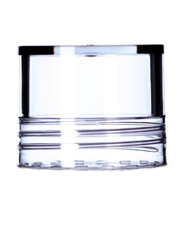 Clear SAN lid for 1 oz deodorant container