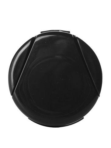 Black PP plastic 33-400 Nutragen II flip top lid