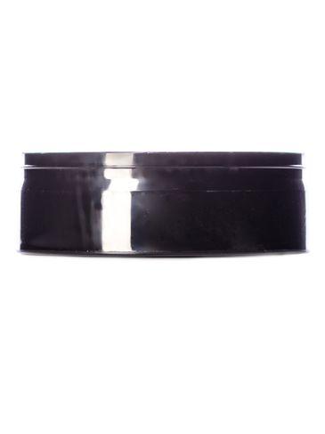 1.5 oz black  snap jar