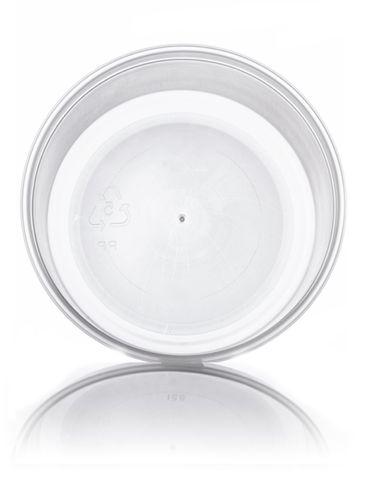 6 oz natural-colored PP plastic round tub