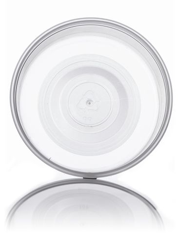 4.5 oz natural-colored PP plastic round tub