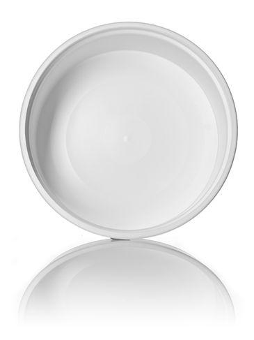 8 oz white PP plastic round tub
