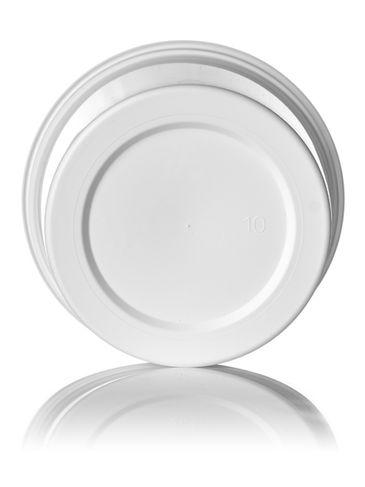 14.7 oz white PP plastic round tub