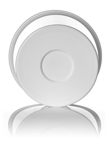 70 oz white PP plastic round tub
