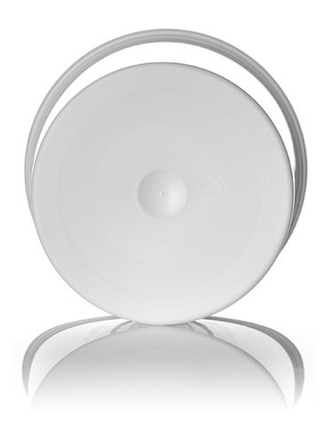 96 oz white PP plastic round tub