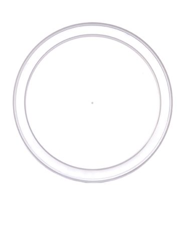 Natural-colored LDPE plastic 3.5625 inch recessed tub lid